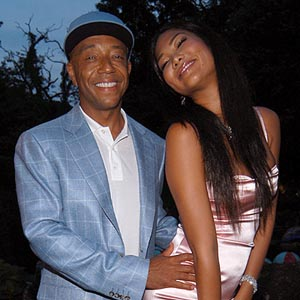 Russell Simmons and his wife Kimora Lee Simmons