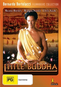 Keanu Reeves playing the Buddha in the movie Little Buddha