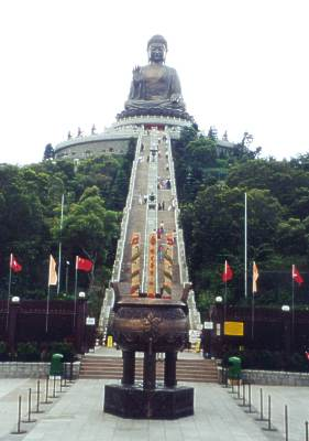 big buddha lantau island how to get there